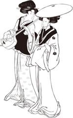 忠臣蔵八段目 白黒