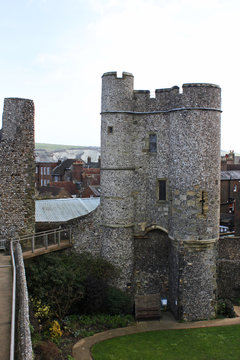 Tower of Lewes Castle. UK.