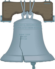 Liberty Bell Vector Illustration