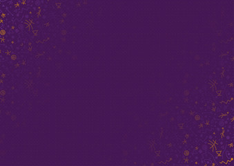 Vector basketball abstract background, purple and orange sport background