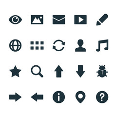 Signs & Symbols - User Interface Icons - Set 2