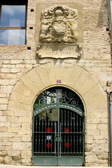 Olite. Historical village of Navarra. Spain