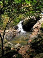Waterfall in Phuket. Thailand. Asia