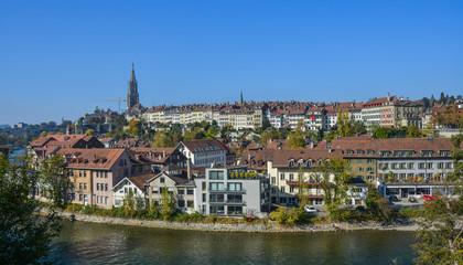Old city center in Bern, Switzerland