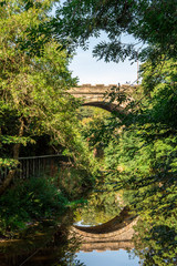 Bridge on Water of Leith Edinburgh