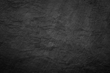 Dark grey and black slate background or texture