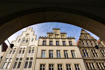 Giebelhäuser am Prinzipalmarkt, Münster NRW