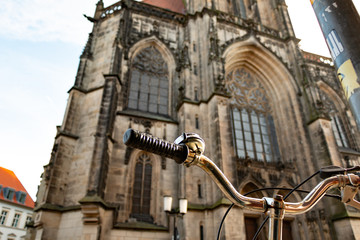 St. Lamberti Kirche, Prinzipalmarkt, Münster Nordrhein-Westfalen  (NRW)