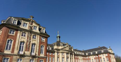Schloss in Münster, Nordrhein Westfalen