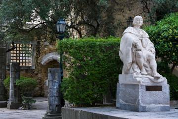 Obraz pomnik w Lizbonie, Portugalia - fototapety do salonu