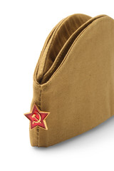 Soviet soldier forage-cap