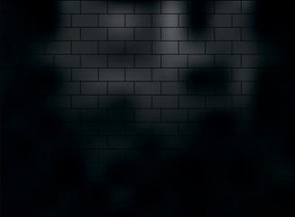 background vector abstract black brick masonry