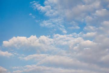 cloud with blue sky.