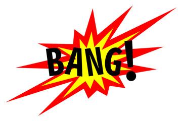 Bang! Explosion Sign