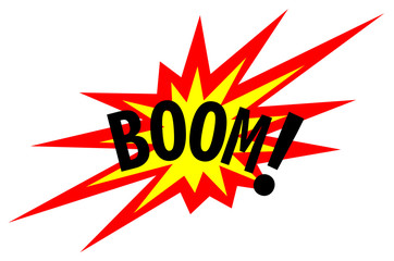 Boom! Explosion Sign