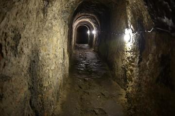 Podziemia Twierdzy Klodzko, podziemia, chodniki minerskie