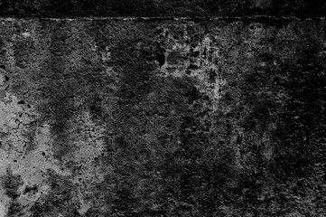 grunge cement wall background black and white