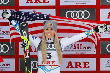 Alpine Skiing - FIS Alpine World Ski Championships - Women's Downhill
