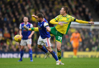 Championship - Norwich City v Ipswich Town