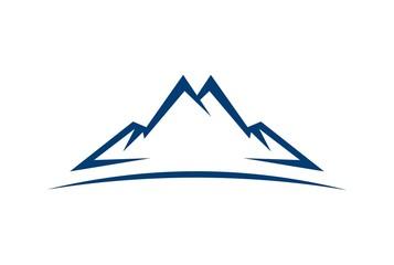 abstract mountain vector icon logo Fototapete