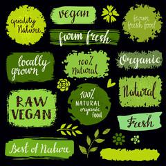 Organic food labels set