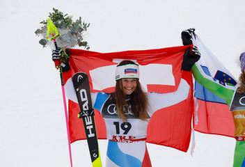Alpine Skiing - FIS Alpine World Ski Championships - Women's Downhill