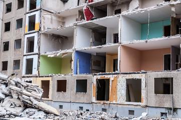 alte Plattenbau Wohnungen in Ostdeutschland