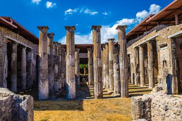 Ruins of Pompeii - Naples Province,Campania, Italy
