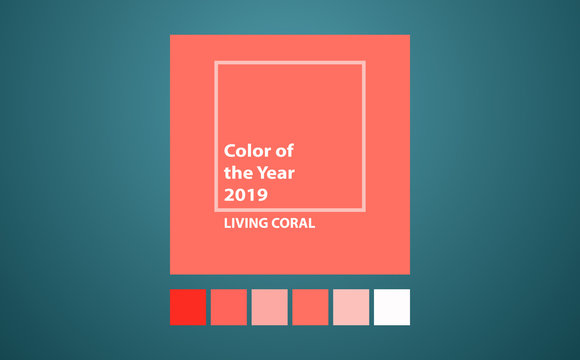 Living Coral color of the year.