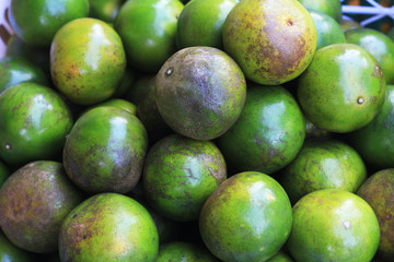 limes in the market