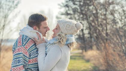 Liebesglück - verliebtes Paar