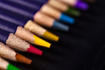 set di matite colorate per disegno
