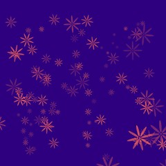 Abstract background, flowers drawn with pencil graphics Flower Power