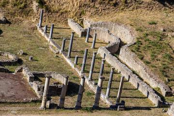 The Roman Theatre In Volterra - Tuscany, Italy