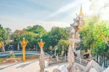 Buu Long pagoda or Thai pagoda in District 9, Ho Chi Minh City, Vietnam