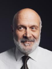 Confident smiling mature man portrait