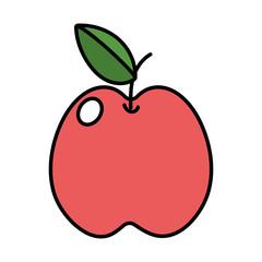 delicious apple cartoon