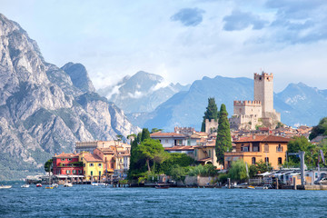 Malcesine - Lake Garda Fototapete