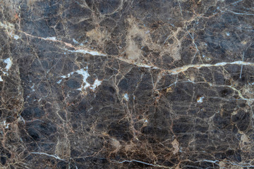 Dark grungy faded marble with veined white patterns - high quality texture / background