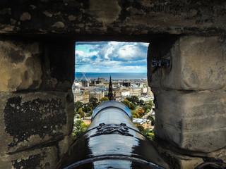 Edinburgh Castle Cannon