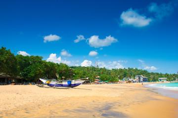 Unawatuna Beautiful beach in Sri Lanka.