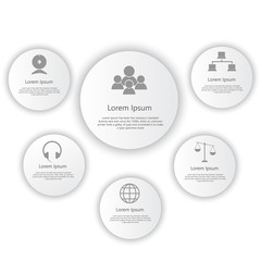 search photos chart data simple Infographic Person isometric corporate timeline infograph elements