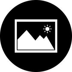 Vector gallery icon
