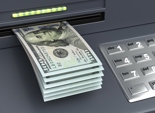 Withdrawal American Dollars
