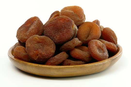 A Plate of Sundried Apricots