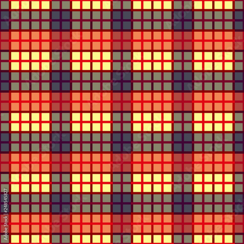 picture about Lite Brite Free Printable Patterns called Seamless tartan plaid practice. Checkered cloth texture