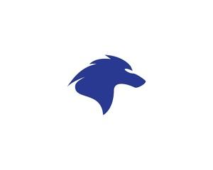 Wolf symbol illustration