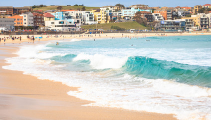 Bondi Beach in summer in Sydney, Australia.