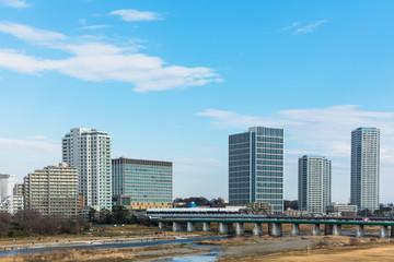 (東京都ー都市風景)二子玉川の景観8