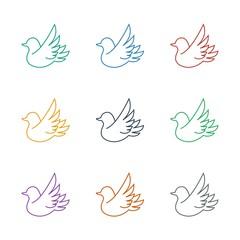 bird icon white background